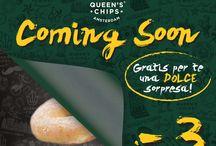 Sweet / Per la prima volta ci sarà un dolce all'interno dei Queen's Chips Amsterdam! Cosa aspettate...andatelo a provare! :)