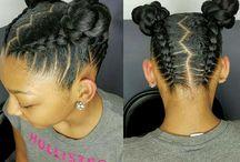 Natural Hair Ideas