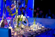Blue Weddings / Wedding tablecloths and special event linens for a blue party.