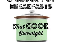 Frukost Crock pot