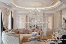 Дизайн интерьера квартиры Классическом стиле в ЖК Отрада / Основой дизайнерской концепции квартиры в ЖК «Отрада» является классический стиль. Вокруг него строго выстроен интерьер всех помещений в доме. Настроение и индивидуальность квартиры передаётся через декоративные элементы и мебель.  Роскошные люстры, картины, занавески и остальные детали передают посетителю тепло и уют.