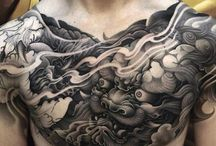 Chest tatt ideas