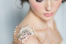 bridal jewelery shoulder
