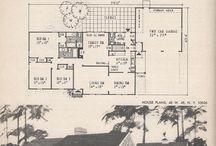 Medium house plans / Medium size homes.