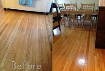Homemade wood floor cleaner / by Connie Burgdorf