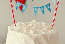Cake Bunting & Cupcake Toppers ~ / by LORRAINE ❤️