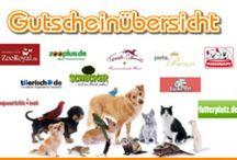 Tierisch Sparen / Gutscheine, Schnäppchen und Angebote für Haustierbesitzer.