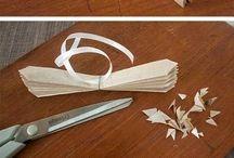 Pompons en papier