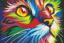 Perler Colorful animals