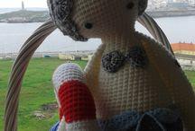 """LalyLala Sirena MICI The MERMAID / Trabajos hadmade Lalylalas """"Esta muñeca está hecha a mano por Mar de un diseño y el patrón por lalylala artesanal // Lydia Tresselt - www.lalylala.com"""""""
