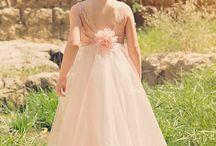 Bridal & groom attire.