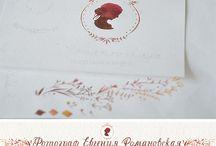Логотип акварельный
