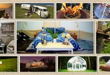Glamping Ideas / Ideas and inspiration for glamorous camping! / by Rainier Yurts