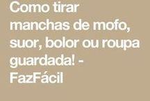 TIRAR MOFO E MANCHAS