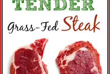 Grassfed Beef / Cooking & preparation tips for our homegrown, all natural grassfed Angus beef.