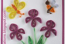 Květiny / Quilling