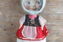 Dolls et créations de Julie Arkell
