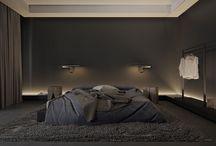 sovrum svart