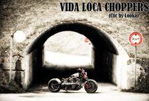 "Softail Harley ""Race Chopper"" Designed by Vida Loca Choppers / Softail Harley Race Chopper Designed by Vida Loca Choppers in 2013"