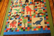 Dinosaurs quilt