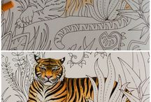 Magical Jungle Book / Painting for adults