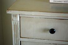 Finitions / Idées et recettes de finitions pour murs et meubles
