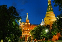 Moscow by night / il cremlino