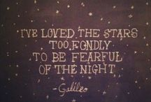 """Night Sky / """"For my part I know nothing with any certainty, but the sight of the stars makes me dream..."""" - Vincent Van Gogh"""