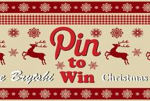 CLOSED - Pin to Win Christmas 2013 Bye Brytshi / Here's a chance to win your very own Christmas inspired cushion from Bye Brytshi. Simply pin a festive design to this board, if we like it we'll sew it up and have it with you in time for Christmas. The draw will take place on the 25th November, so you've plenty of time to pin as much as you want. Good luck. (To be invited to this board simply 'follow' it or send us an email at byebrytshi@hotmail.co.uk)