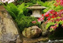 Garden:Japanese/Japanese countryside / Japanese gardens and countryside / by winifred Andre