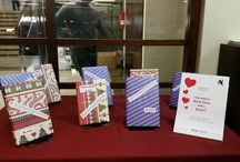 """Valentine's Day 2016 / At IESE Library, we'll be decorating the library and we also want to encourage our visitors to go on a """"Blind Date with a Book."""" A selection of books from our collection have been wrapped in paper, with only a very brief description on the front. Pick up a book, unwrap it, and if you feel the earth move, you can check it out at the Library Desk. The aim is to introduce you to a book you'll love but may not have picked up of your own accord."""