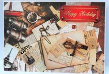 Kanban Vintage World Kit / Inspiration using Kanban Vintage World Papercraft kit