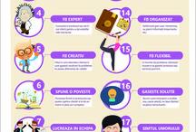 De pe prietenulmeuvirtual.ro infografice si free stuff / Imagini din articolele de pe site Infografice Documente printabile gratuite