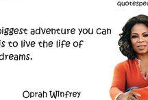 Quotes by Women / Geweldige quotes van inspirerende vrouwen