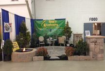 Adams County Home Show / Photos of our booth from the 2014 Adams County Home Show in Gettysburg, Pa.