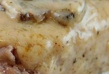 Baked pork chops
