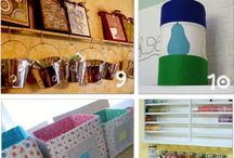 Craft Room Storage Ideas / by Ashley Speet