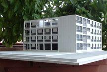 Casa del Fascio, Giuseppe Terragni, 1:200 / modello in scala 1:200 per info e shopping:  hist.arch.models@gmail.com