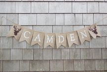Happy Camper Shower / baby shower decor