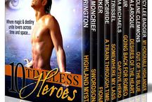 Books: 10Timeless Heroes Boxed Set / A boxed set of 10 time travel novels.