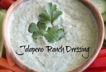 dressings, dips and condiment's