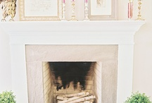 Fireplaces / by Alicia