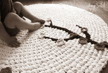 Alfombras crochet-ganchillo / by Ganchi Yo