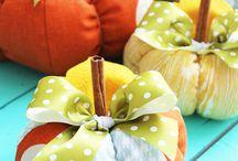 őszi dekorációk
