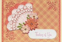 Cards with doilies