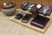 Horloge houder