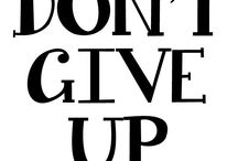 Motivation & Inspiration. / by Kelly Kerulis