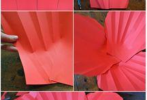 kwiaty bibuła papier tiul