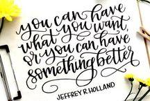 HandLetteredDesign.com / Chalk Art, Hand Lettering, Chalkboards, Brush Lettering, Brush Pens, Online Workshops