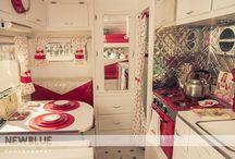 Vintage caravan-ing!